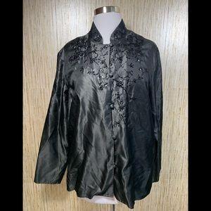 Diane Von Furstenberg Silk Assets 100% Silk Blouse